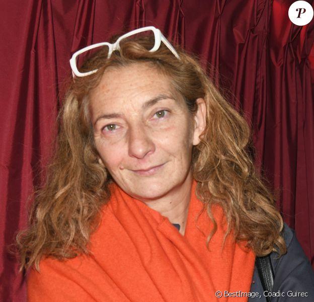 """Corinne Masiero - After Party de la remise du prix Cinéma 2019 de la Fondation Barrière pour le film """"Les Eblouis"""" au Fouquet's à Paris le 8 octobre 2019. © Coadic Guirec/Bestimage"""