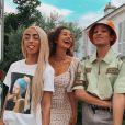 Léna Situations prend la pose sur Instagram avec ses meilleurs amis, Bilal Hassani et Sparkdise.
