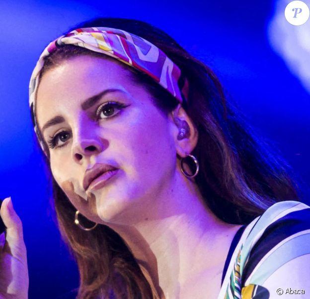 Lana Del Rey sur scène. Le 27 mai 2017. @Danny Lawson/PA Wire