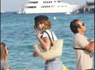 Lou Doillon : une modeuse radieuse... sous le ciel bleu de Saint-Tropez !