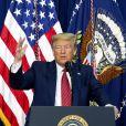 Le président Donald J. Trump - Allocution aux membres du National Border Patrol Council dans l'auditorium de la Cour sud de la Maison Blanche à Washington D.C., aux États-Unis, le vendredi 14 février 2020.