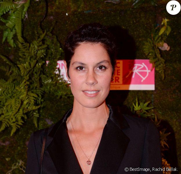 Exclusif - Fanny Leeb - Dîner de la Fondation ARC au Pavillon Cambon-Capucines à Paris, le 7 octobre 2019. © Rachid Bellak / Bestimage