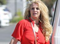 Britney Spears pas à son avantage et blessée pour une séance d'UV