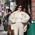 Kendall Jenner est allée déjeuner avec des amis au restaurant Sadelles dans le quartier de Manhattan à New York, le 24 février 2020
