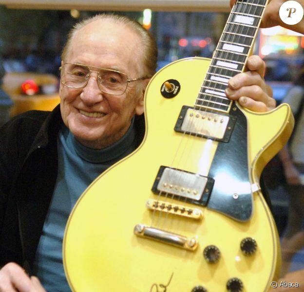 Les Paul, l'inventeur de la guitare moderne, s'est éteint le 13 août 2009 à l'âge de 94 ans...