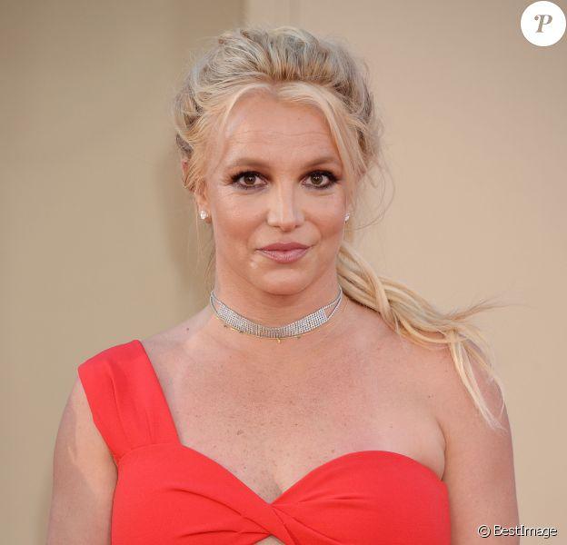 Britney Spears à la première de Once Upon a Time in Hollywood à Los Angeles, le 22 juillet 2019