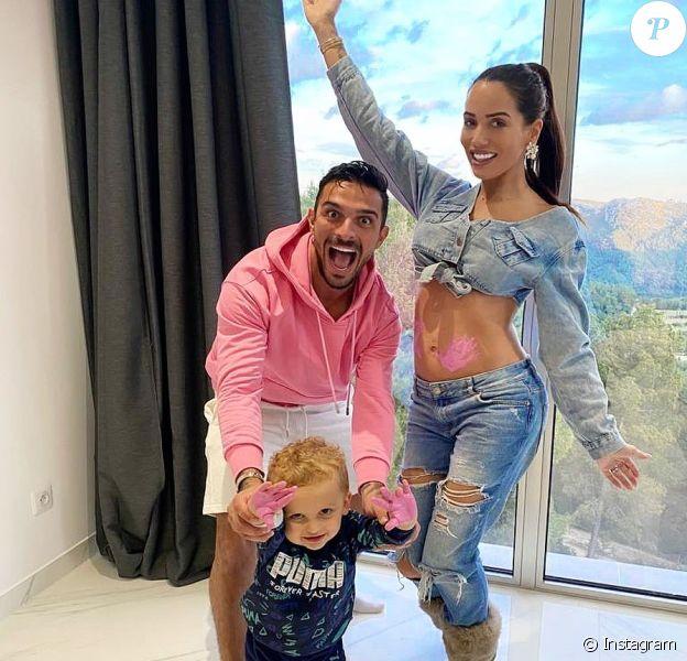 Julien et Manon Tanti annoncent qu'ils seront bientôt parents d'une petite fille le 6 mars 2020 sur Instagram.