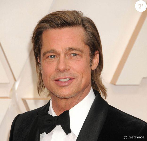 Brad Pitt - Photocall des arrivées de la 92ème cérémonie des Oscars 2020 au Hollywood and Highland à Los Angeles le 9 février 2020.