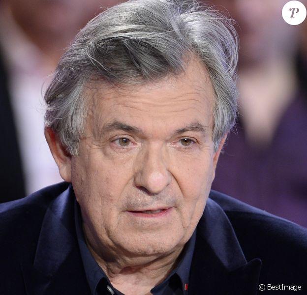 """Jacques Leibowitch - Enregistrement de l'émission """"Vivement Dimanche"""" à Paris le 10 décembre 2014."""