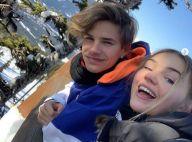 Romeo Beckham amoureux : déclaration à sa chérie, Mia Reagan
