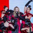 Madonna en concert à l'AccorHotels Arena à Paris, le 9 décembre 2015.