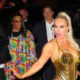 """Coco Austin, Ice T à la soirée """"Heidi Klum Halloween Party"""" à New York, le 31 octobre 2019."""
