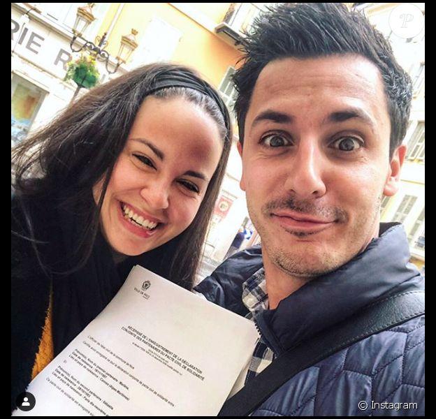 Marlène et Sébastien se sont pacsés. L'annonce a été faite sur Instagram, le 15 mars 2020.