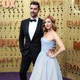 Tyler Stanaland, Brittany Snow - Les célébrités assistent à la cérémonie des Emmy Awards à Los Angeles, le 22 septembre 2019.
