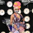 Nicki Minaj assiste aux MTV Video Music Awards 2011 à Los Angeles. Le 28 août 2011.