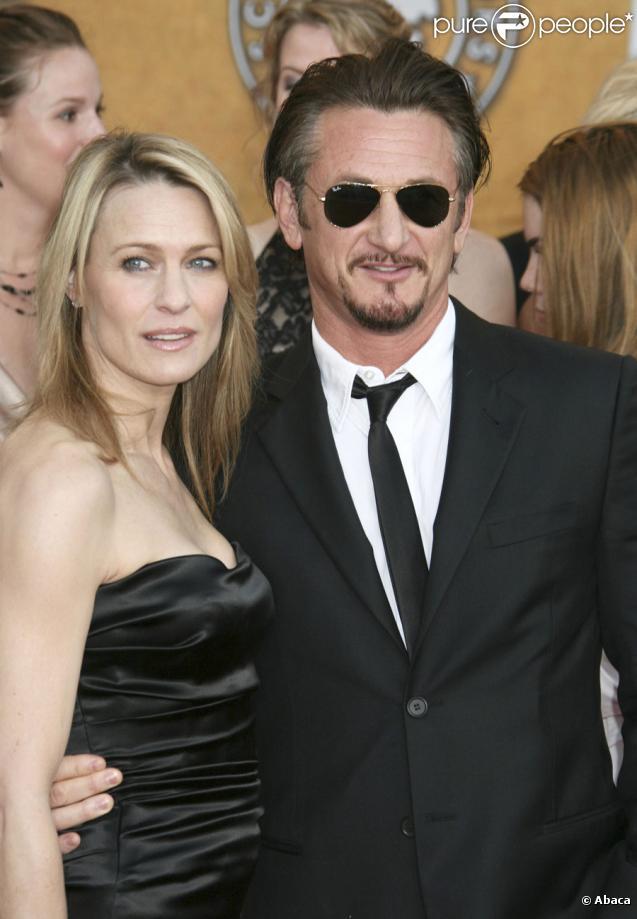 Sean Penn et Robin Wright