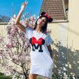 Julia Paredes pose sur Instagram, le 19 mars 2020