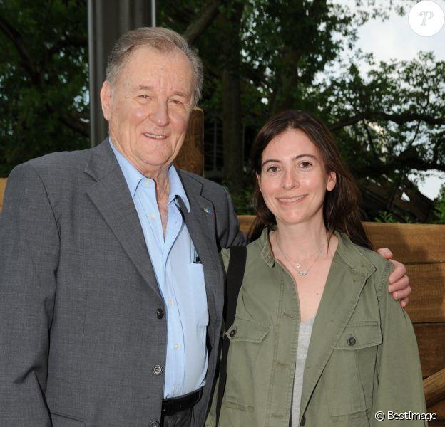 Albert Uderzo et Anne Goscinny en juin 2012.