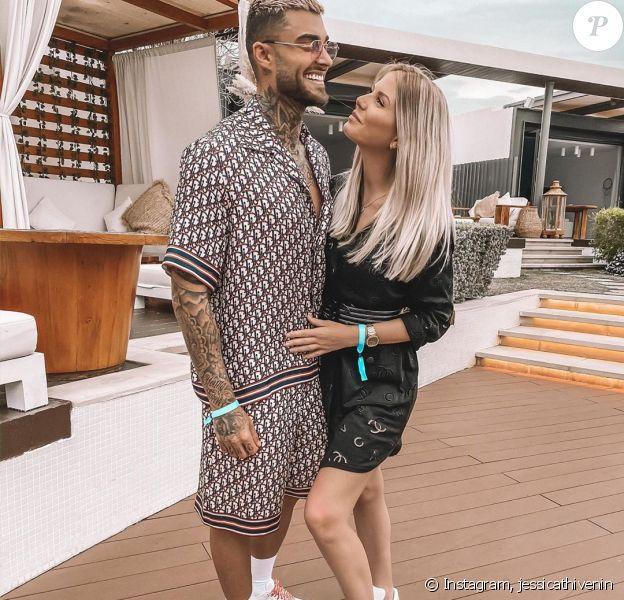 Thibault Garcia et Jessica Thivenin sur Instagram, le 15 mars 2020