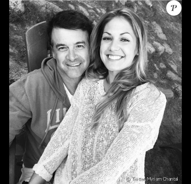 Myriam Chantal a souhaité un joyeux anniversaire à son compagnon Roch Voisine le 26 mars 2019 sur Twitter.