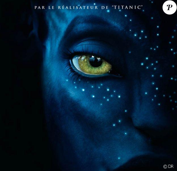 L'affiche française officielle d'Avatar !