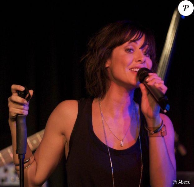 Natalie Imbruglia au Lexington, à Londres. 19/08/09