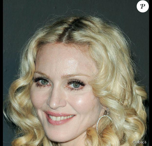 Madonna à la soirée Gucci