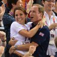 Kate Middleton et le prince William lors des Jeux Olympiques de Londres en 2012.
