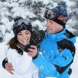 Kate Middleton et le prince William en vacances dans les Alpes françaises en 2016.
