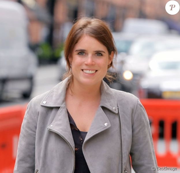 Exclusif - La princesse Eugenie d'York à Londres, le 24 avril 2019