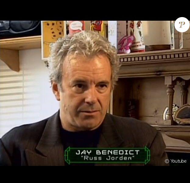 Jay Benedict lors d'une interview en 1986. L'acteur est mort le 4 avril 2020 du Covid-19.