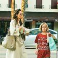 Exclusif - Angelina Jolie fait du shopping avec ses filles Vivienne et Sahara à Studio City le 11 mars 2018.