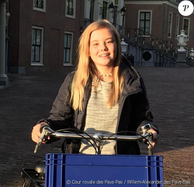 La princesse Ariane des Pays-Bas photographiées par son père le roi Willem-Alexander en septembre 2019 lors de son départ pour la rentrée des classes. © Cour royale des Pays-Pas / Willem-Alexander des Pays-Bas