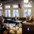 La reine Maxima des Pays-Bas a visité des établissements d'hôtellerie et de restauration à Amsterdam le 8 avril 2020, en plein confinement durant la pandémie de coronavirus, et a participé à une réunion avec des représentants du secteur sur les conséquences économiques. © Royalportraits Europe / Bernard Rubsamen / Bestimage