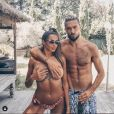 Julien Guirado et Marine El Himer le 31 octobre 2019 sur Instagram.