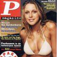 La jolie Julie Taton en couverture de P Magazine !