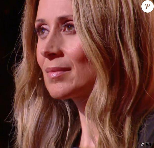 """Lara Fabian lors de l'épreuve des K.O dans """"The Voice"""". Émission du samedi 18 avril 2020, TF1"""