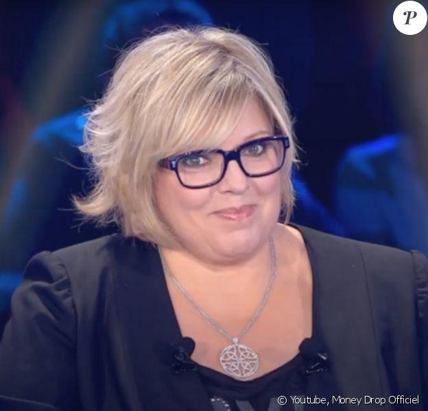 """Laurence Boccolini dans l'émission """"Money Drop"""", diffusée sur TF1."""
