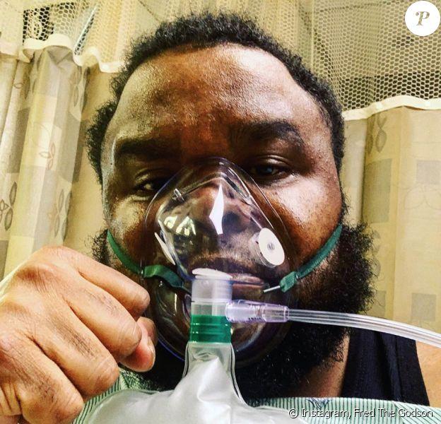 Le rappeur Fred The Godson (de son vrai nom Frederick Thomas) est mort du coronavirus. Il avait 35 ans. Photo publiée le 1er avril 2020.