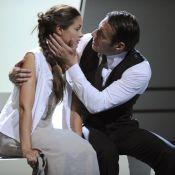 Quand Barbara Schulz et Samuel Le Bihan s'embrassent langoureusement... C'est passionné !