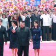 Xi Jinping (président de la République populaire de Chine) rencontre Kim Jong Un (Dirigeant suprême de la république populaire démocratique de Corée) à Pyongyang lors de son voyage officiel en Corée du Nord, le 20 juin 2019.