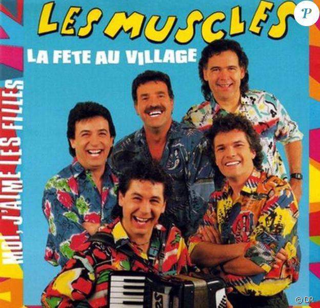 René (René Morizur, en haut à droite) des Musclés est décédé le 26 août 2009 à l'âge de 65 ans