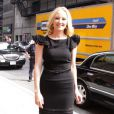 """Anne Heche arrive au David Letterman Show, à New York. 24/08/09"""