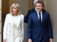 Brigitte Macron : Tenue immaculée pour un 1er mai spécial, aux côtés d'Emmanuel
