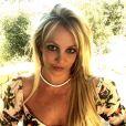 Britney Spears sur Instagram le 2 mai 2020.