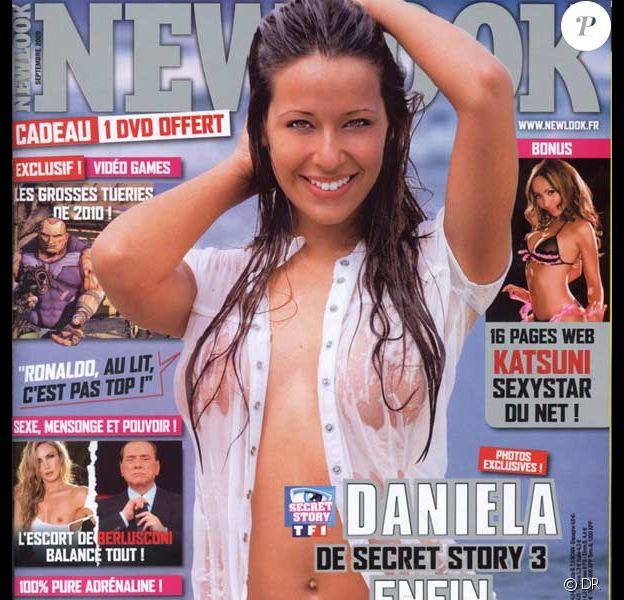 Daniela en couverture de New Look
