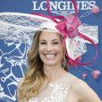 Sophie Thalmann (robe Christophe Guillarmé) - Prix de Diane Longines à l'hippodrome de Chantilly, le 16 juin 2019. © Marc Ausset-Lacroix/Bestimage