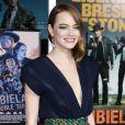 """Emma Stone à la première de """"Zombieland"""" à Los Angeles, le 10 octobre 2019."""
