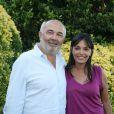 Gérard Jugnot et sa compagne Saïda Jawad au festival d'Angoulême le 29/08/09