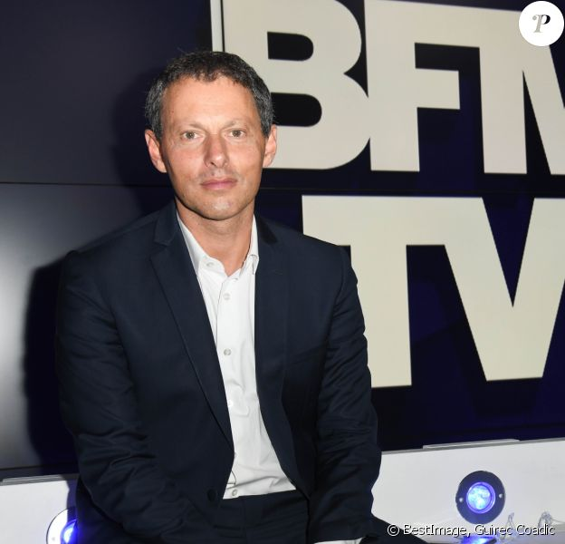 Marc-Olivier Fogiel, PDG de BFMTV - Conférence de presse de rentrée de BFMTV à Paris le 5 septembre 2019. © Guirec Coadic / Bestimage